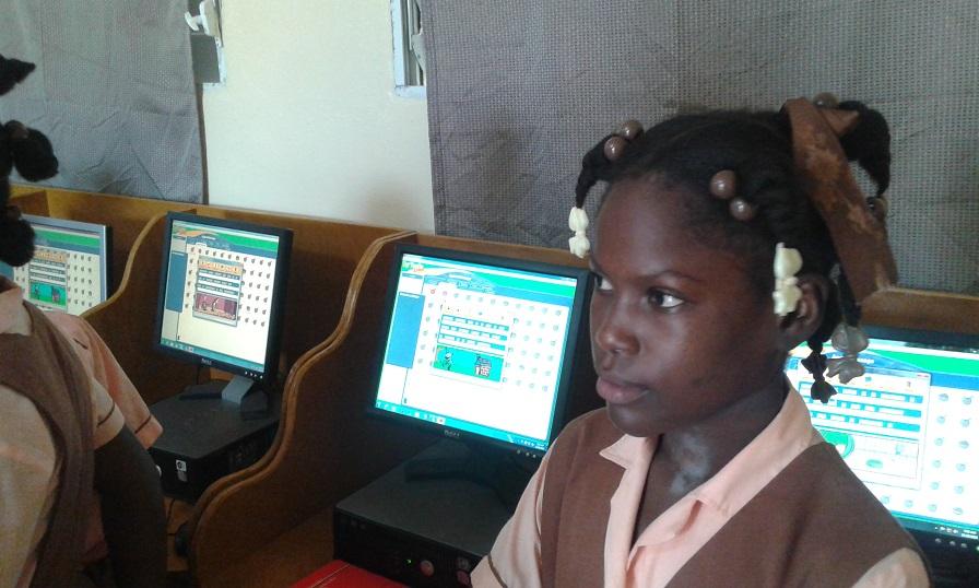 computer lab haiti